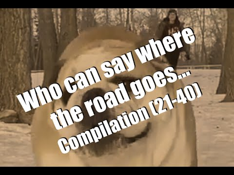 Who can say where the road goes... - Compilation (21-40)