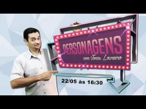 PERSONAGENS - O NOVO PROGRAMA DA TV PRINCESA