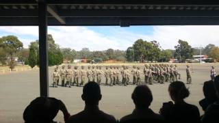 Australian Army Kapooka March Out Parade
