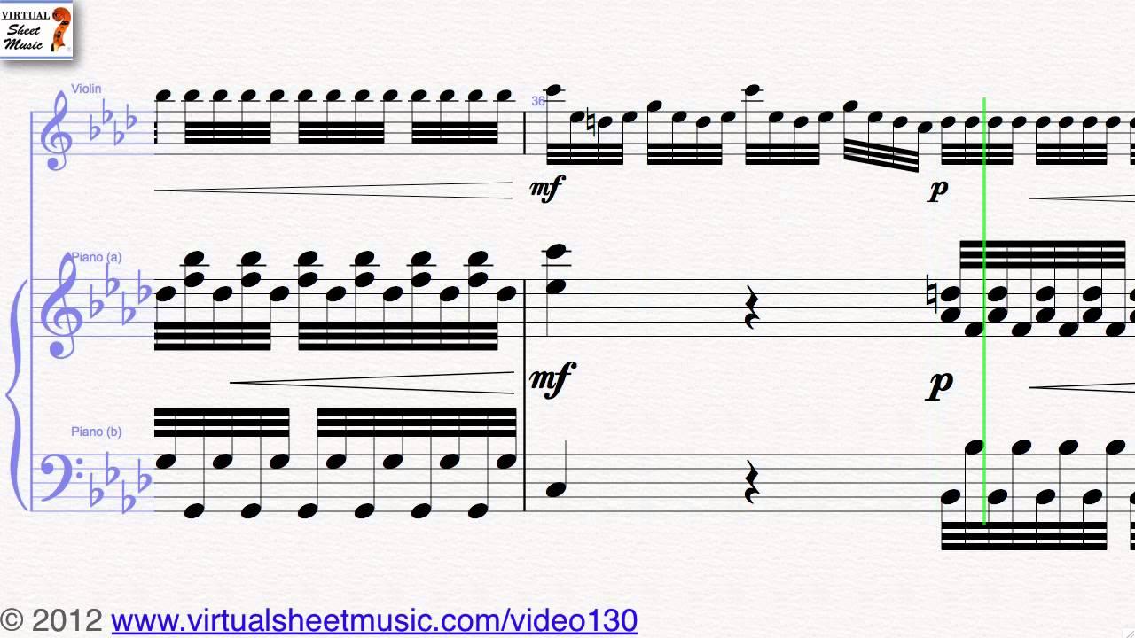 """Antonio Vivaldi's Concerto """"Winter"""" from Four Seasons Allegro non"""
