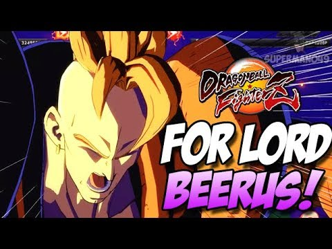 THE ONE HIT K.O! THIS ONE'S FOR LORD BEERUS! - Dragon Ball FighterZ: Trunks, Beerus & Android 16