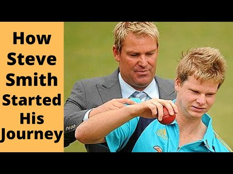 The Story of Australian Skipper Steve Smith Starting as a Young Leg Spinner