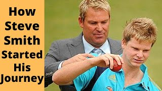The Story of Steve Smith Starting as a Young Leg Spinner