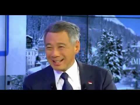 Lee Hsien Loong's comments on China at WEF in Davos