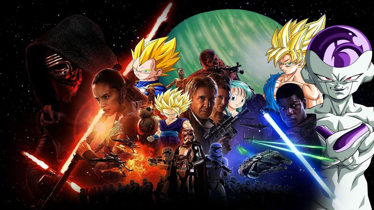 Trailer Star Wars Il Risveglio della Forza - (PARODIA) Dragon Ball ...
