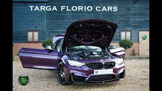 BMW M4 3.0 Twin Turbo Competition Pack 2dr Coupe M DCT in Purple Silk 2017