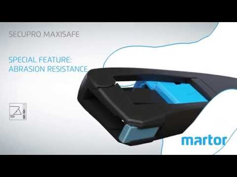 Safety knife MARTOR SECUPRO MAXISAFE product video GB