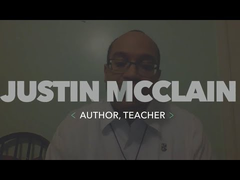 Interview with Justin McClain, Author & Teacher
