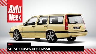 De 7 Volvo-iconen uit 90 jaar