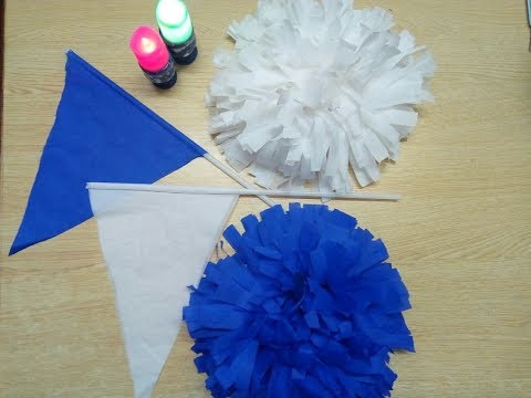 DIY Crepe Paper Sports Day Accessories 2019