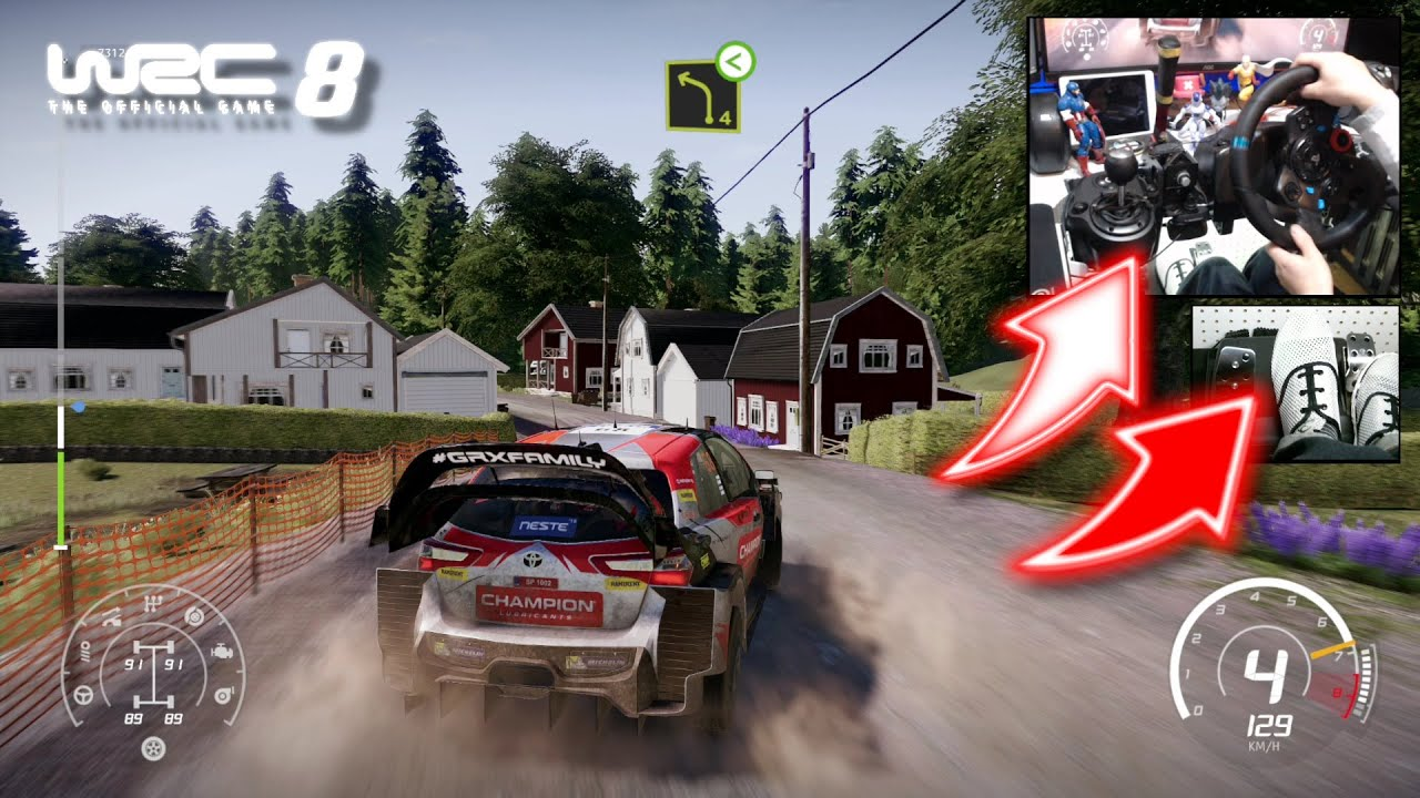 Download WRC 8 Toyota Yaris Grönholm & Rautiainen / Logitech G29
