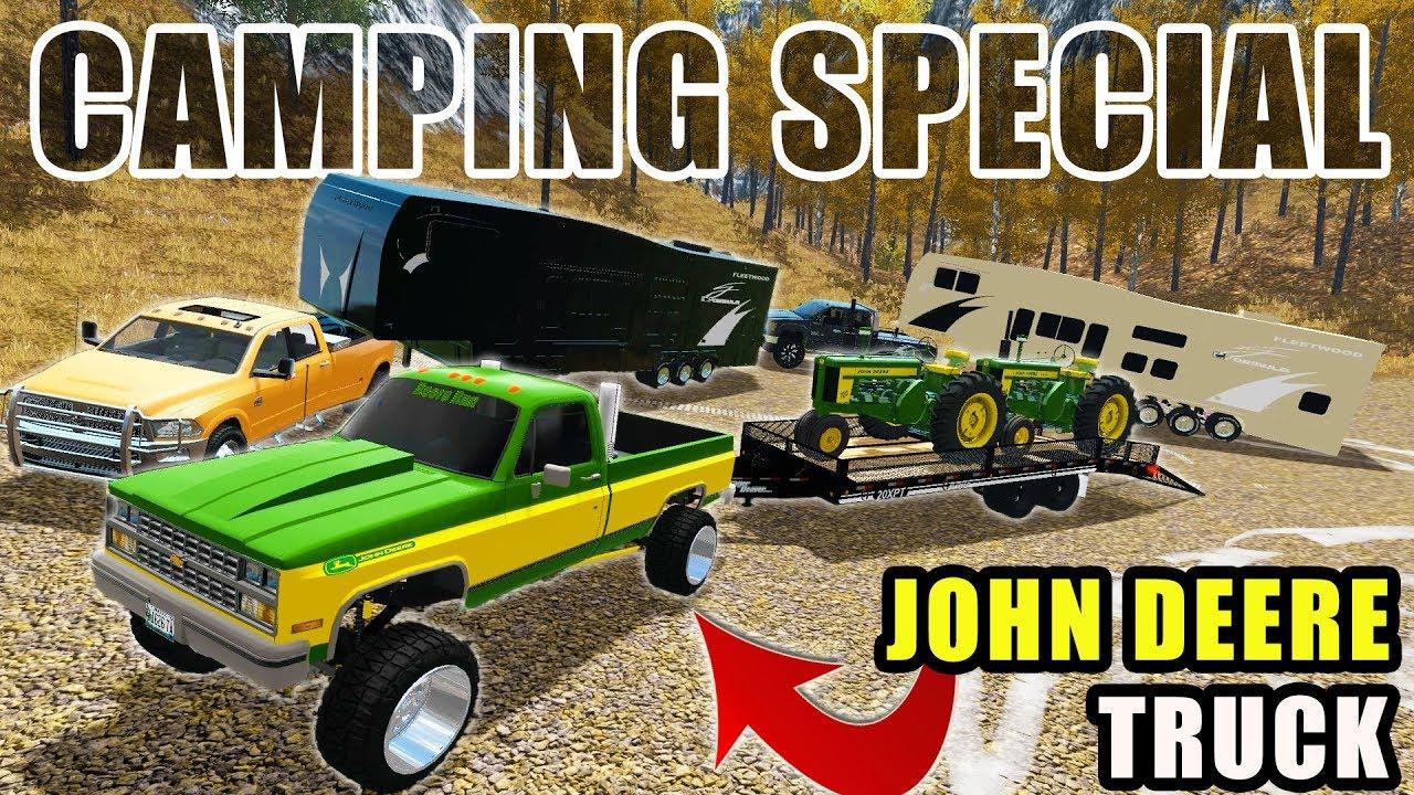 going-camping-w-new-custom-john-deere-truck-more-farming-simulator-2017
