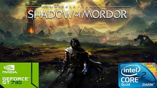Middle-Earth: Shadow of Mordor on Intel Core 2 Quad Q8400 & Nvidia GT730