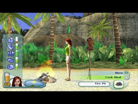 The Sims 2: Castaway PS2 Gameplay HD (PCSX2)