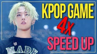 GUESS THE 4x SPED UP KPOP SONG | KPOP Challenge | Difficulty: Hard