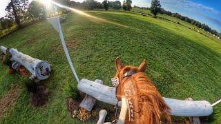 Mustang Helmet Cam: Wyeth (2021 American Eventing Championships   Beginner Novice)