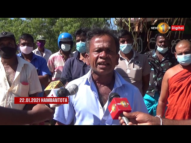Walsapugala Protest continues. 02 farmers hospitalized in critical condition