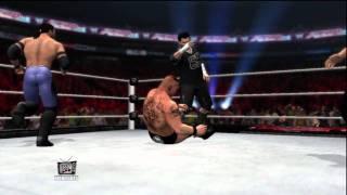 WWE Universe RAW Week 3 Brock Lesnar vs Andy Six vs Justin Time