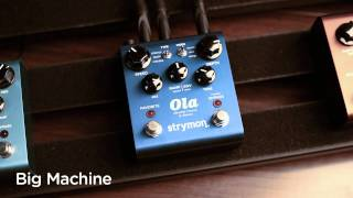 Strymon Ola dBucket Chorus & Vibrato - Audio Clips