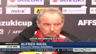 Indonesian national team were Win 2-1 versus Singapore, Indonesia's Press Conference coach Alfred Ri