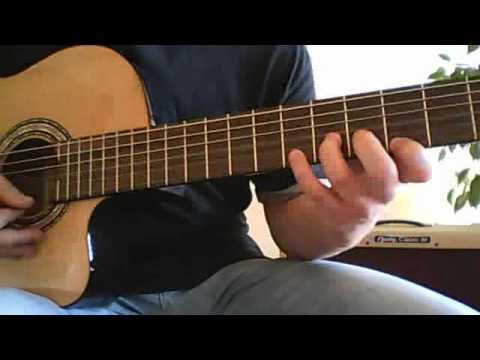 Mariachi guitar solo lesson with TAB (Desperado