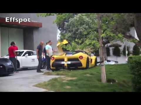 Este Ferrari LaFerrari quería salir en Dolorpasión™ pero acabará en CSI