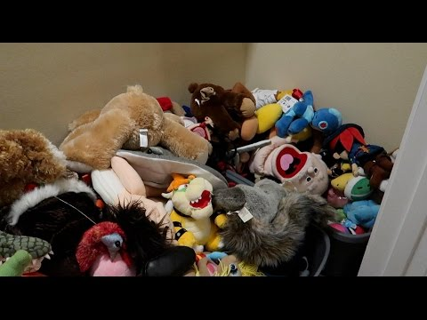 OUR PUPPET CLOSETS IN THE NEW HOUSE!