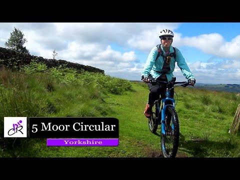 Cycling The 5 Moor Circular  2017