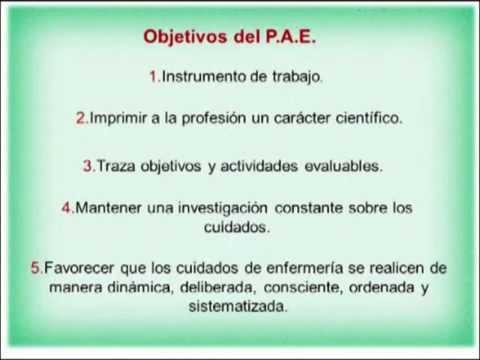 Plan de atención de enfermería (PAE) - UNERG