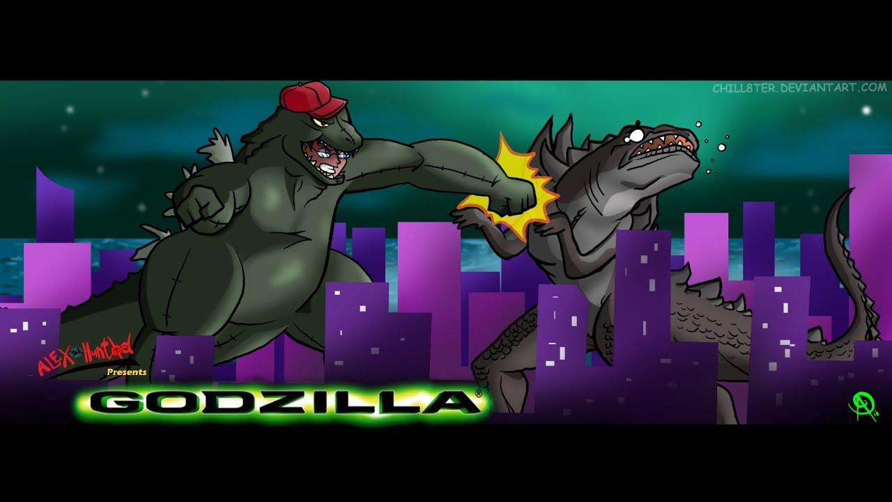 Godzilla 1998 Review Alexthehunted - YouTube