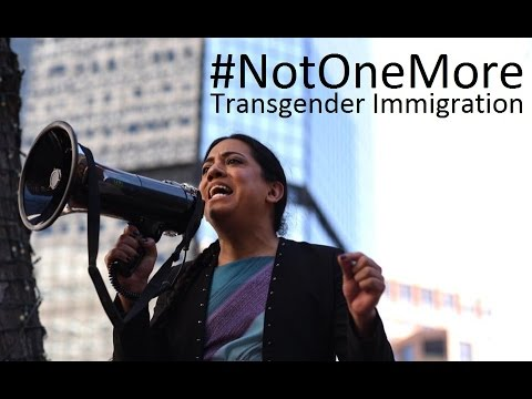 #NotOneMore - Transgender Immigration