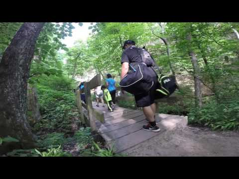 When Filipinos Go Hiking - Starved Rock State Park