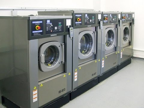 Girbau Commercial Laundry Equipment / Productos División Lavanderia Comercial