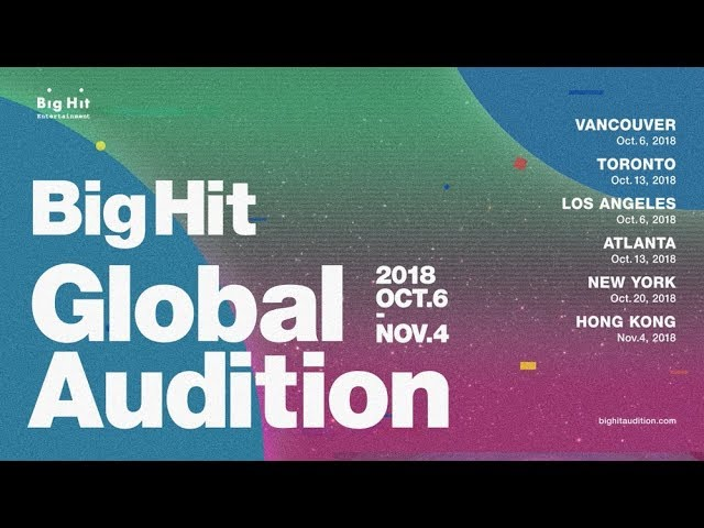 BTS Agency Big Hit Ent  Global Audition 2018 | HYPEBAE