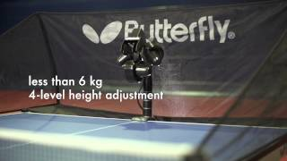 The new Amicus table tennis robot from Butterfly