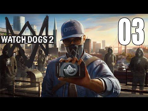 Watchdogs 2 - Gameplay Walkthrough Part 3: Cyberdriver