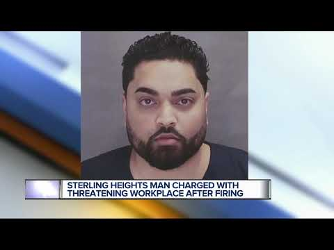 Sterling Heights man charged with making a threat of terrorism to workplace and USA