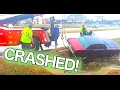 1965 Mustang Crash - Hard hit