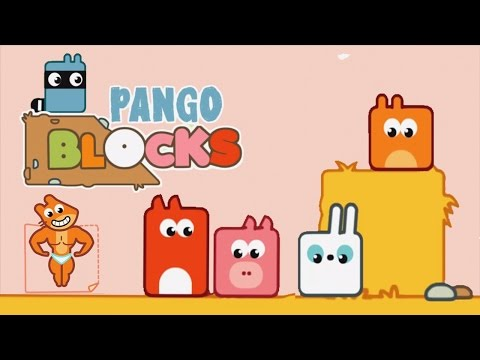 Thumbnail: Kids Learn Logic Puzzels With Blocks and BUILD a Path for Pango From Pango Story Time