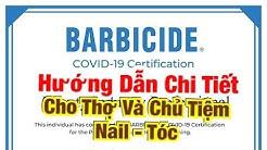 Hướng Dẫn Chi Tiết BARBICIDE CERTIFICATION TEST Cho Chủ Và Thợ Nails - Tóc