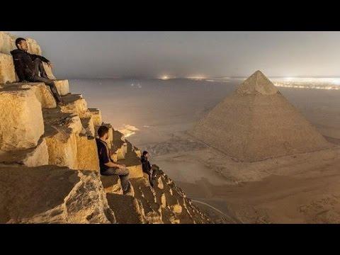 Fotos Prohibidas de las Pirámides de Egipto Fueron Tomadas por un Fotógrafo Ruso