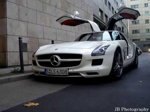 Mercedes-Benz SLS AMG Auto Gallery in Frankfurt