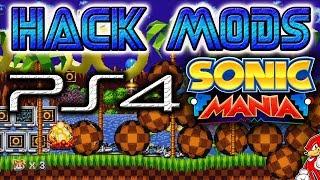 Hack Mods Sonic Mania PS4 Medallas Infinitas, Modo Debug, Vidas Infinitas - By ReCoB