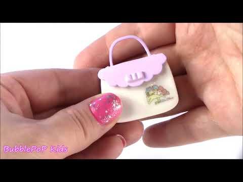 BubblePOP Kids! Miniature Makeup! Eyeshadow! Lip Gloss! Blush! 8 Different Sets! Twin Stars Toy Cosm