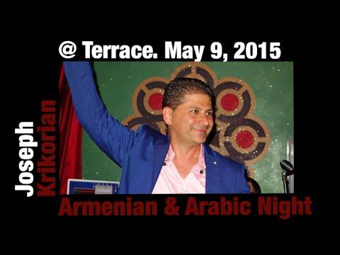 Joseph Krikorian Arabic & Armenian Night at Terrace Restaurant May 9, 2015 wav