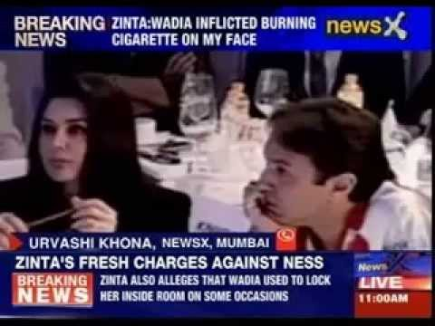 Preity Zinta: Ness Wadia inflicted burning cigarette on my face