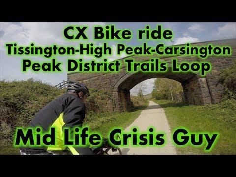 High Peak Trails Loop Bike Ride, Derbyshire, UK