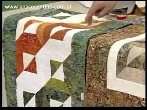 Patchwork Ana Cosentino: Centro de Mesa Batik (Programa