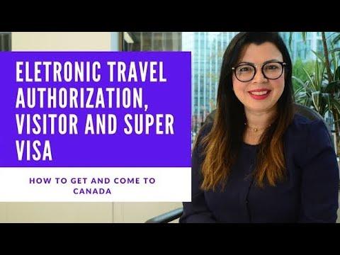 HOW TO APPLY TO VISITOR VISA, SUPER VISA AND ETA! COME TO CANADA