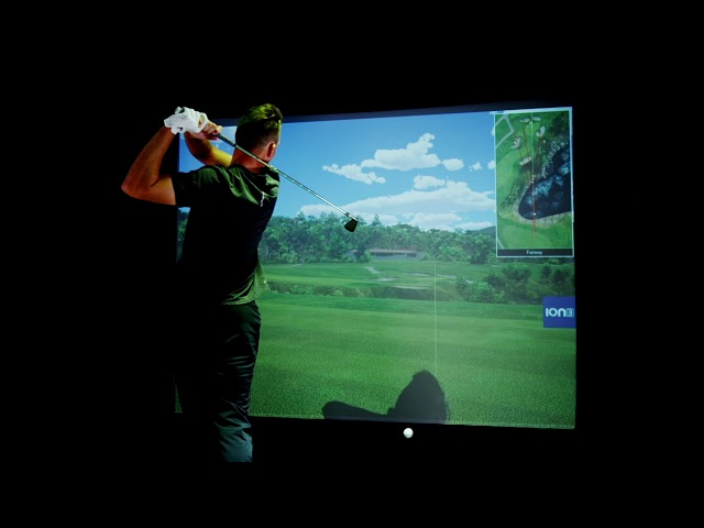 Aaron Wise Talks About Installing His Full Swing Simulator at Home